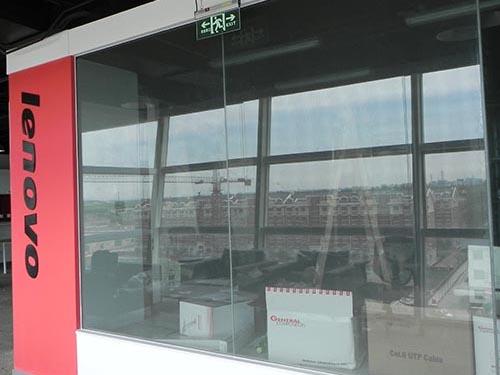 联想机房屏蔽玻璃