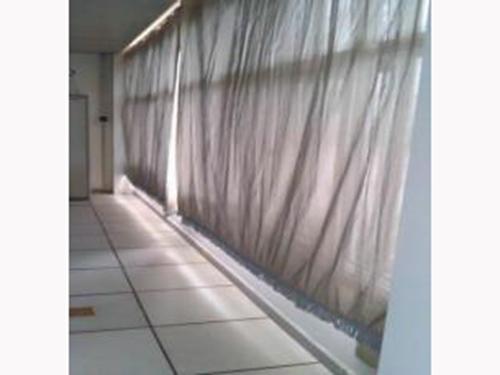 北京机场横拉式屏蔽窗帘